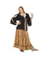 Groovy Mamma Adult Plus Costume - Plus (18-22)
