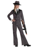 Gangster Girl Child Costume