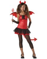 Devil Girl Pre-Teen Costume