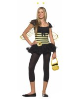 Sunflower Bee Teen Costume - Small/Medium