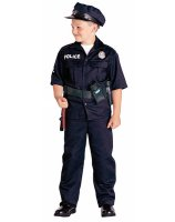 Police Officer Child Costume - X-Small (4-6)
