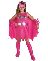 Pink Batgirl Child Costume - Medium (8-10)