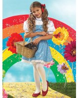 The Wizard of Oz Dorothy Child Costume - X-Small (2-4)