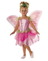 Pink Butterfly Fairy Child Costume - Small (4-6)