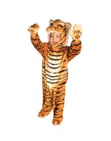 Brown Tiger Infant - Toddler Costume - Toddler (2-4T)