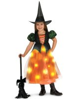 Twinkle Witch Toddler/Child Costume - Medium (8-10)
