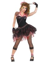 80's Diva Adult Costume - One-Size (up to size 12)