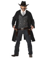 Western Gunslinger Adult Costume - Medium (40-42)