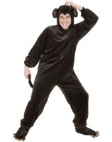 Monkey Adult Plus Costume