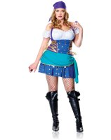 Gypsy Princess Adult Plus Costume - 1X/2X