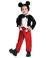Disney Mickey Mouse Deluxe Toddler - Child Costume - 4-6