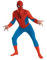 Spider-Man Deluxe Adult Costume - X-Large (42-46)