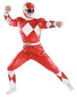 Power Rangers - Red Ranger Classic Adult Costume - X-Large (42-46)