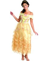 Beauty and the Beast Belle Deluxe Adult Costume - Medium (8-10)