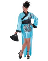 Dragon Geisha Adult Plus Costume