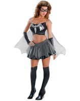 Black-Suited Spider-Girl Sassy Prestige Adult Costume