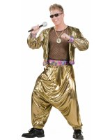 80s Video Super Star Adult Costume - One Size