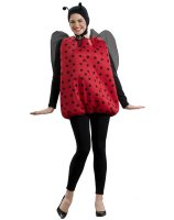 Lady Bug Adult Costume - One Size