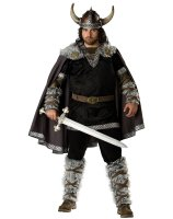 Viking Warrior Adult Plus Costume - Plus (2X)