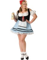 Oktoberfest Girl Adult Plus Costume