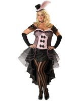 Burlesque Babe Adult Plus Costume - Plus (2X)