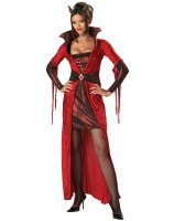 Seductive Devil Adult Costume - Medium