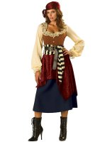 Buccaneer Beauty Adult Costume - Medium