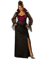 Midnight Vampiress Adult Plus Costume - Plus (2X)