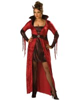 Seductive Devil Adult Plus Costume - Plus (2X)