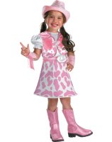 Wild West Cutie Toddler - Child Costume - Small (4-6X)