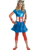 Captain America Girl Child - Teen Costume