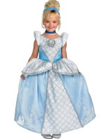 Disney Storybook Cinderella Prestige Toddler - Child Costume - Medium (7-8)