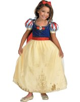 Disney Storybook Snow White Prestige Child - Toddler Costume - Medium (7-8)