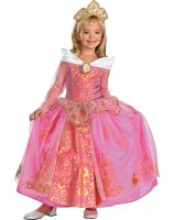 Disney Storybook Aurora Prestige Toddler - Child Costume - Medium (7-8)