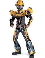 Transformers Bumblebee Movie 3-D Deluxe Child Costume