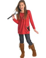 Camp Rock Mitchie Torres Red Classic Child Costume
