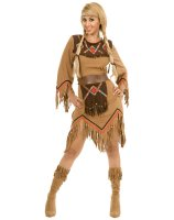 Sacajawea Indian Maiden Adult Costume - Small