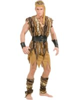 Cool Caveman Adult Plus Costume