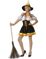 Candy Corn Adult Costume - Small (6-8)