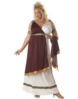 Roman Empress Adult Plus Costume - Plus (16-22)