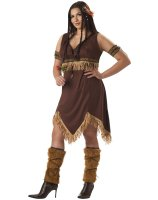 Sexy Indian Princess Adult Plus Costume - Plus (16-22)