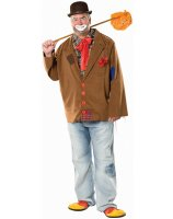 Harry the Hobo Clown Adult Plus Costume