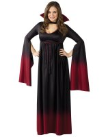 Blood Vampiress Adult Plus Costume - Plus (16-20W)