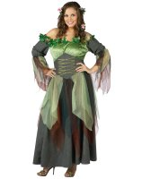 Mother Nature Adult Plus Costume - Plus (16-20W)