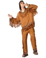 Native American Adult Plus Costume - One-Size