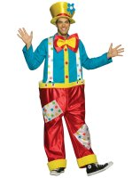 Clown Male Adult Costume