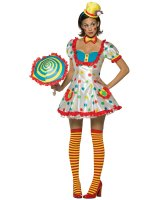 Clown Female Adult Costume - Standard