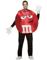 M&Ms Red Poncho Adult Costume - Standard