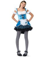 Magic Mushroom Alice Teen Costume