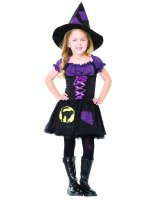 Black Cat Witch Child Costume